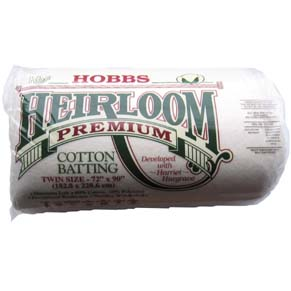 Hobbs Heirloom quilt wadding - twin size