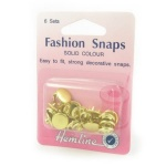 11mm gold fashion snaps