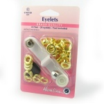 8.7mm gold eyelets with tool