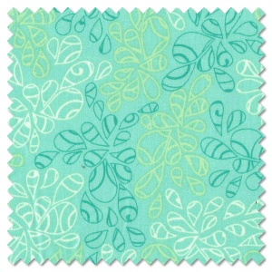 Nature Elements - caribbean blue (per 1/4 metre)