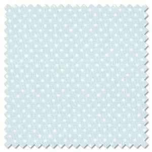 Basics - white on blue dots (per 1/4 metre)
