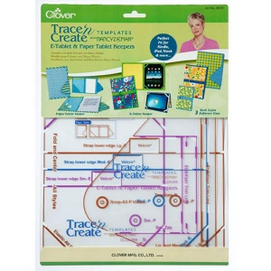 Clover Trace n Create templates - E-tablet and paper tablet keepers