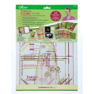 Clover Trace n Create templates - E-tablet and paper tablet keepers 2.0