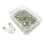 Curved safety pins jumbo pack