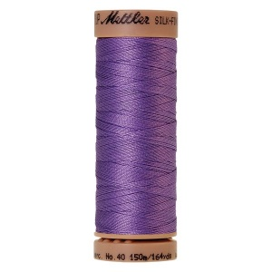 0029 - English lavender Mettler Silk Finish 40 quilting thread 150m