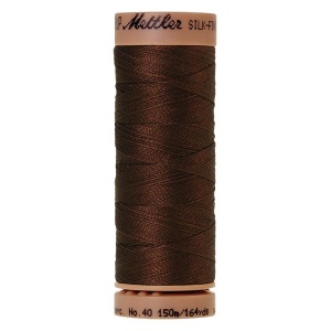 0173 - Friar brown Mettler Silk Finish 40 quilting thread 150m