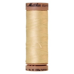 1384 - Lime blossom Mettler Silk Finish 40 quilting thread 150m