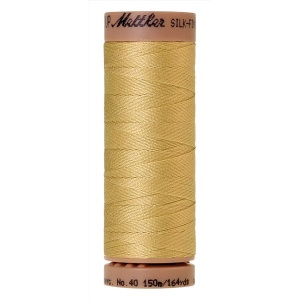 1412 - Lemon frost Mettler Silk Finish 40 quilting thread 150m