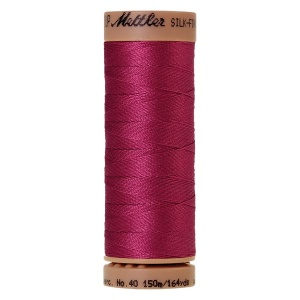 1417 - Peony Mettler Silk Finish 40 quilting thread 150m