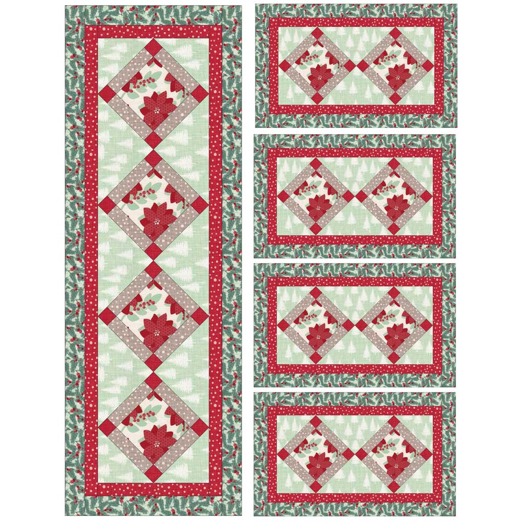 Quilt Patterns For Table Runners And Placemats : Free quilt patterns Quilting projects free Free quilt designs