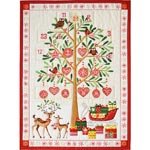 Christmas quilt panels
