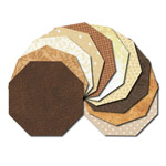 Octagon fabric charm packs