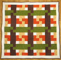Autumn Weave quilt download
