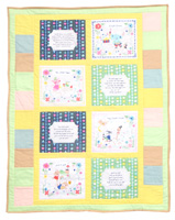 Once Upon A Rhyme cot quilt pattern