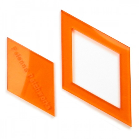 Acrylic diamond templates - 1.5 inch