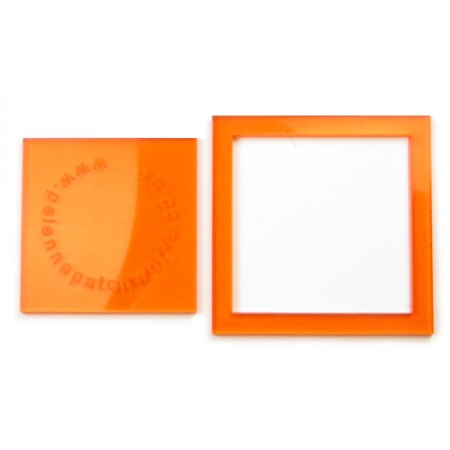 Acrylic square templates - 2 inch