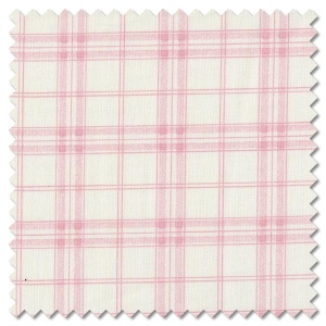 Bramble Cottage - French plaid blossom (per 1/4 metre)