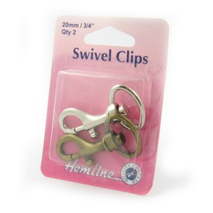 20mm swivel clips (bolt snaps)