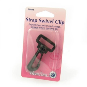 25mm plastic swivel clip