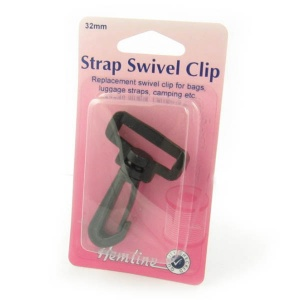 32mm plastic swivel clip