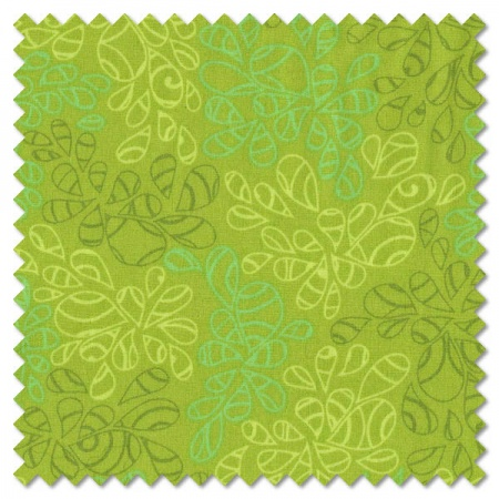Nature Elements - green tea (per 1/4 metre)