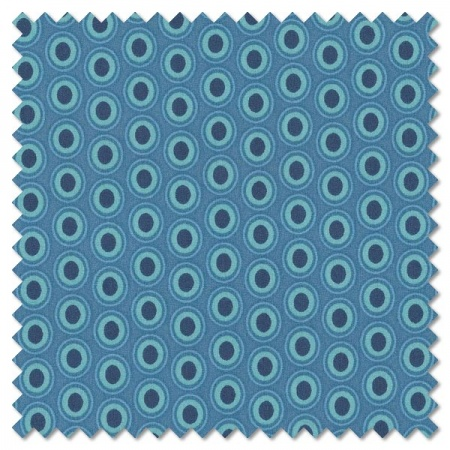 Oval Elements - sapphire (per 1/4 metre)
