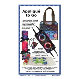 ByAnnie Applique to Go bag pattern