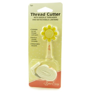 Daisy thread cutter & needle threader