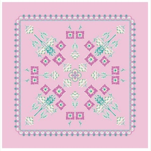 Liberty Deco Dance tile panel - pink