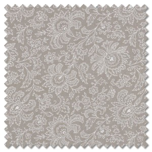 French Chateau & Bee - paisley cloud (per 1/4 metre)
