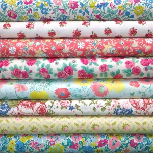 Floral prints stash pack