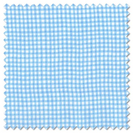Basics - blue gingham check (per 1/4 metre)