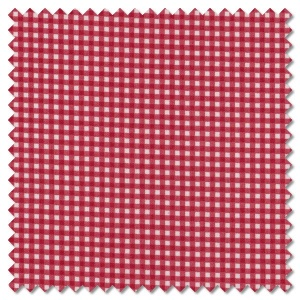 Basics - red gingham check (per 1/4 metre)