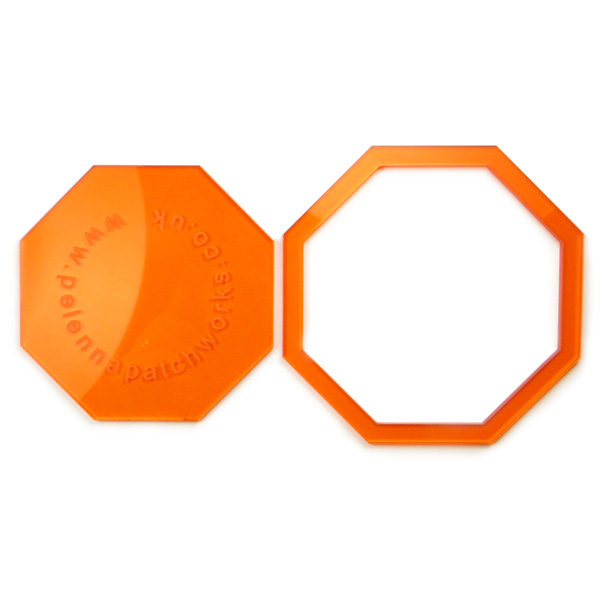 1 5 inch acrylic octagon patchwork templates pelenna patchworks