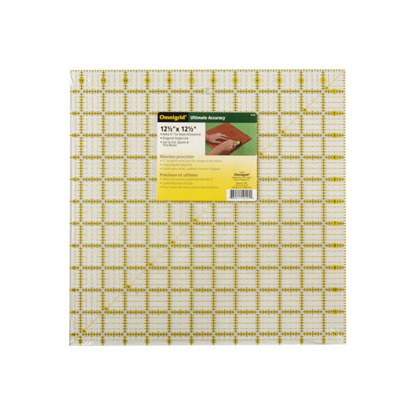 Omnigrid Square Quilting Ruler 12 5 Inch By 12 5 Inch