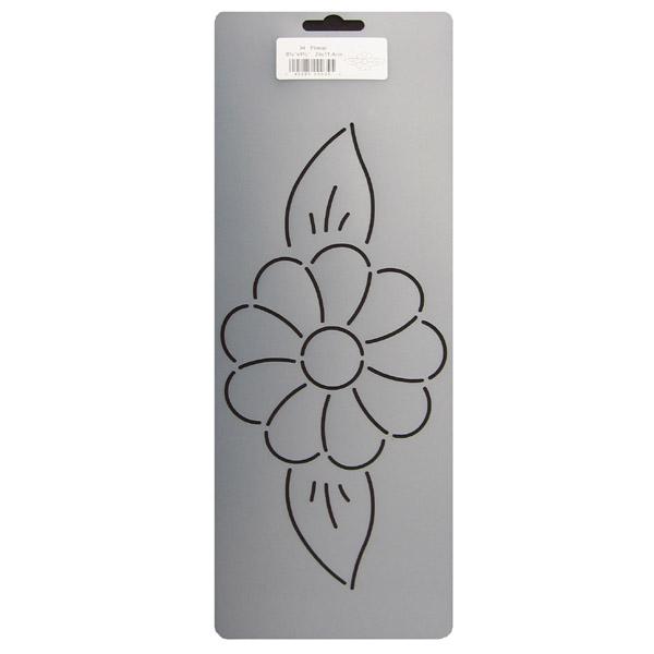 34 Flower Quilting Stencil 9 5 Inch