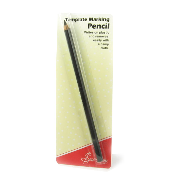 Black Template Marking Pencil For Plastic Quilting Templates