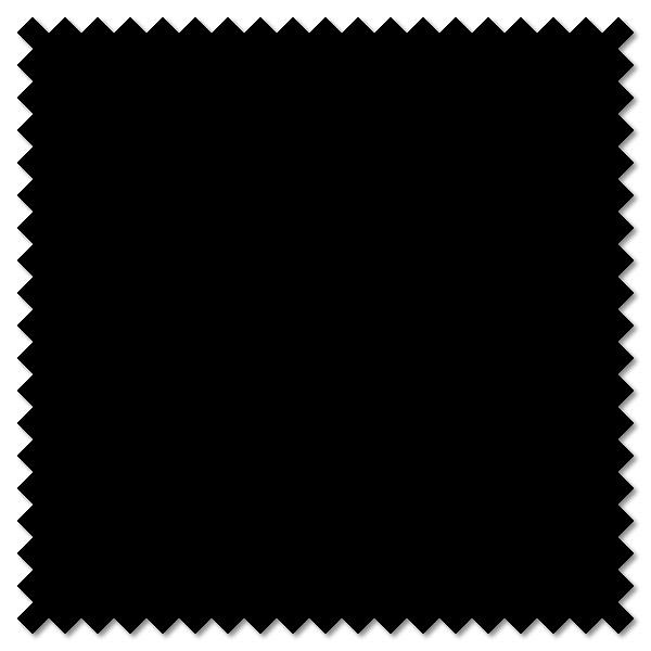 Plain Black Cotton Patchwork Fabric