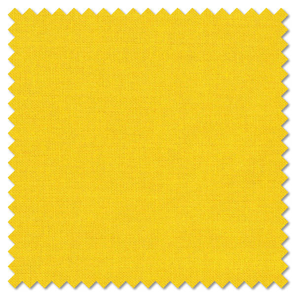 Plain Bright Yellow Cotton Patchwork Fabric