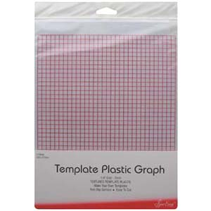 Grid Marked Template Plastic For Patchwork Templates And
