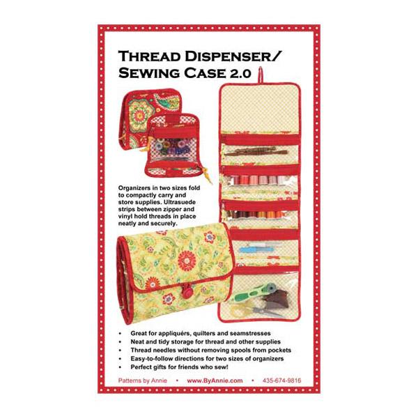 ByAnnie Thread Dispenser/Sewing Case 2.0 bag pattern