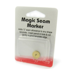 Magic seam marker