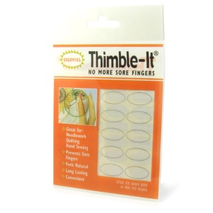 Thimble-Its stick on quilting thimbles