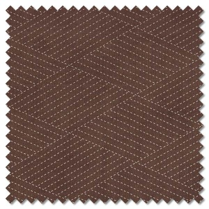 Mill Creek Garden - diamond stitches earth brown (per 1/4 metre)