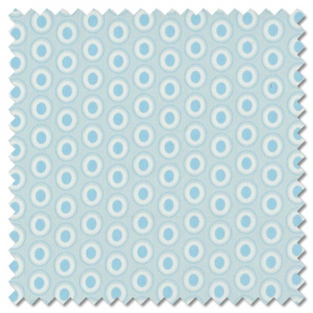Oval Elements - powder blue (per 1/4 metre)