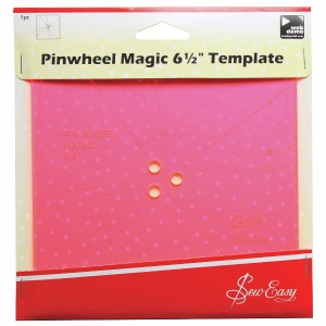 Pinwheel Magic 6.5 inch template