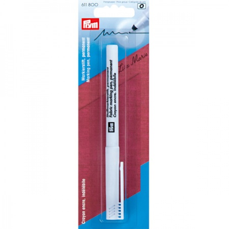 Permanent fabric marking pen