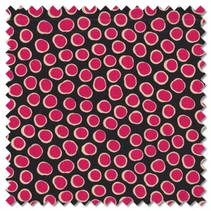 Reef - fish spot black (per 1/4 metre)