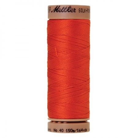 0450 - Paprika Mettler Silk Finish 40 quilting thread 150m