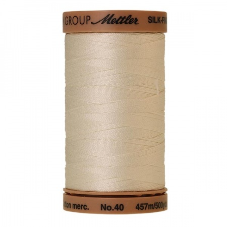 0778 - Muslin Mettler Silk Finish 40 quilting thread 457m